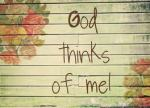 God thinks